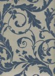 Regency SketchTwenty3 Wallpaper Scroll Blue PV00234 By Tim Wilman For Blendworth